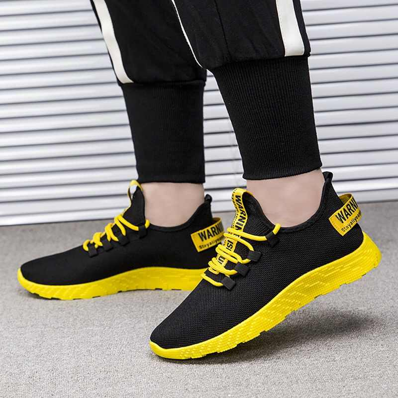 Fashion Men Running Shoes Breathable Sneakers Male Casual Comfortable Jogging Shoes Soccer Basketball Sports Shoes Men