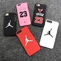 Hot Jordan 23 Chicago bull sports Matte hard plastic case for iphone 7 7plus 5 5s se 6 S 6s plus 8 8plus X Coque cover cases