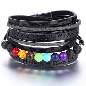 IF ME 7 Chakra Beads Bracelet