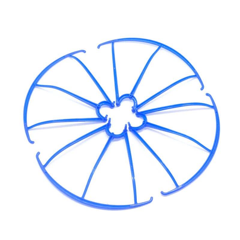 1 Conjunto de 5 colores 4 unids/lote SYMA X5C X5C1 X5 X5SW repuestos guardia círculo protección anillo-Parte para RC piezas de repuesto para Dron Quadcopter