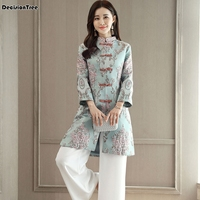 2019 new vietnam aodai chinese traditional clothing for woman qipao long chinese oriental dress modern cheongs