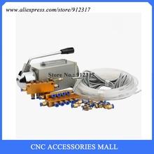 Manual Oil Lubrication Pump for CNC Router Machine Oil lubrication system недорго, оригинальная цена