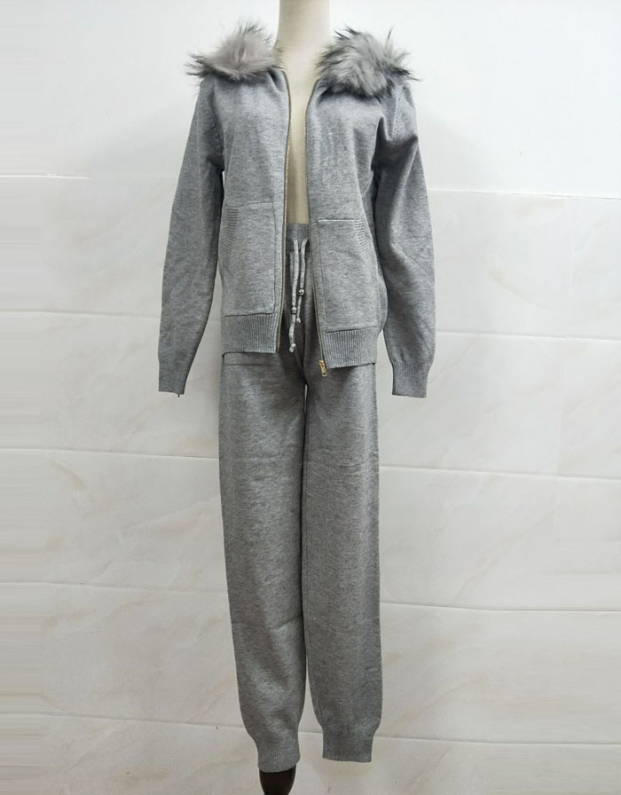 Winter Knitted Suit for Women 18