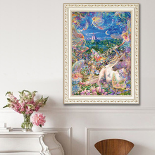 DIY diamond painting A horse in a fairy tale 5d icon embroidery mosaic decoration new year gift