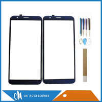 5.5 Inch For DEXP Z355 Touch Glass Touch Screen Sensor Panel Digitizer Black Blue Color With Tools Tape 1PC/Lot