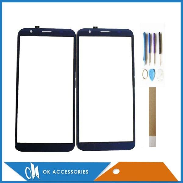 5.5 pouces pour DEXP Z355 tactile verre écran tactile capteur panneau numériseur noir bleu couleur avec outils bande 1 PC/Lot|Panneau tactile pour téléphone portable|Téléphones portables et télécommunications -