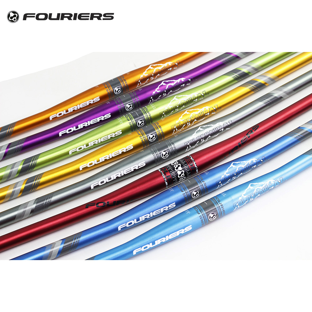 Fouriers 7075 Aluminium MTB Bike Flat Handlebar 31.8mm x 720mm Enduro AM FR XC DH Bicycle Off Road Bars hard nuts of history warriors