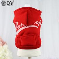 QY NEW Arrival Cotton Casual Dog Hoodies Sweater Winter Warm Clothing For Dogs Puppy Dog Cat