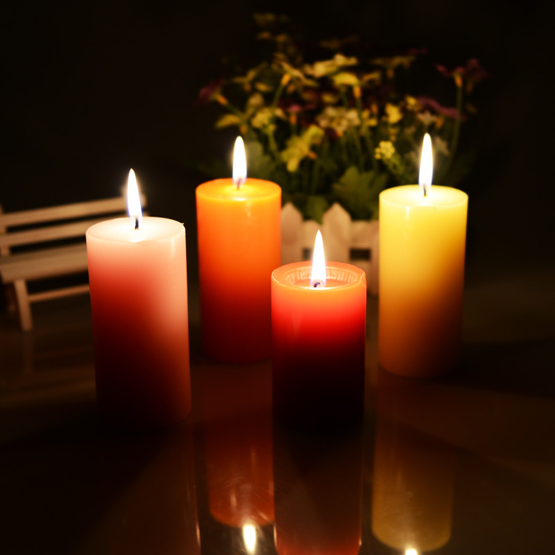 1pcs fashion decoration large aromatherapy smokeless candles aromatherapy essential oil wedding candles romantic scented candles - Decorative Candles