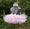 Девушки розовый петти пачка может с цветы повязка детские юбки