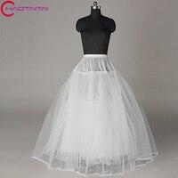 Big Wedding Petticoat Wholesale White Bridal Underskirt Women Crinoline Skirt TUTU Plus Size 3 Holes