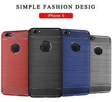 for Apple iPhone 6 Silicone Armor Bumper Shockproof Cover Phone Cases Fundas