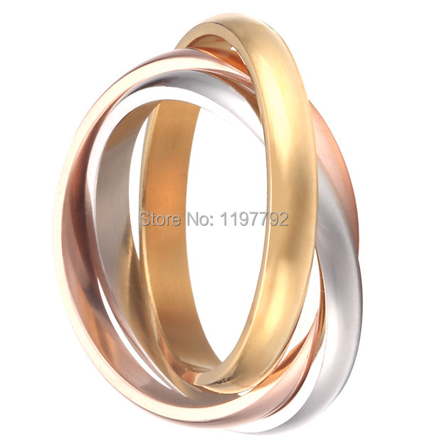 high quality fine jewelry pure titanium steel womens wedding band promise ring puzzle rings eternity rings - Puzzle Wedding Rings