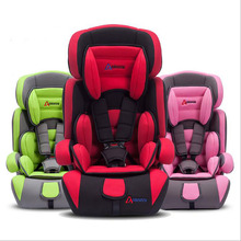 hot sale! 2016 new Adjustable baby car seat Child baby car safety seat belt age 0- 9 year England