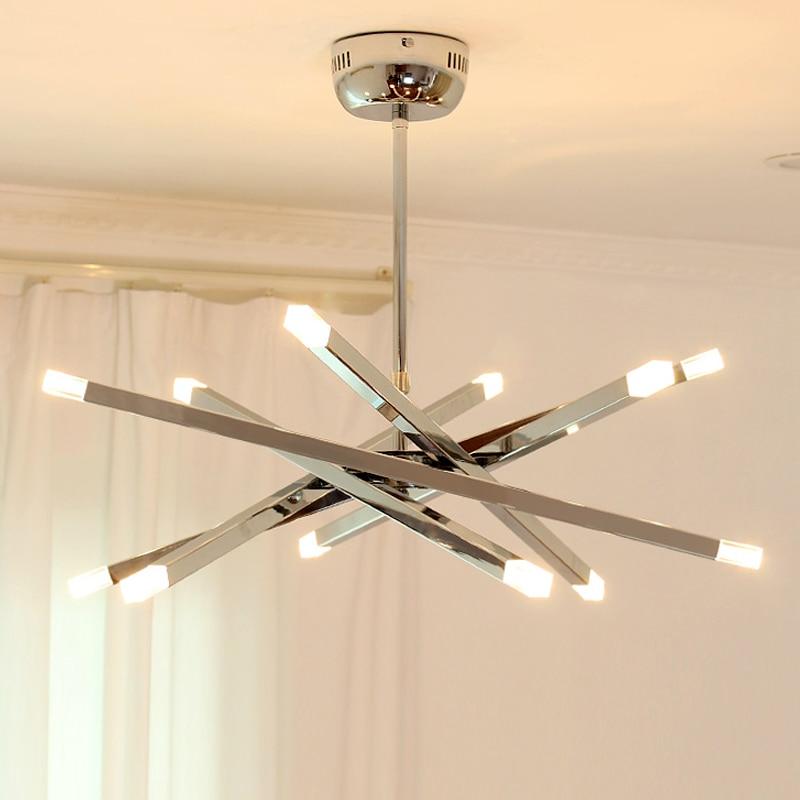 Modern Pendant Lamps LED Chandelier Lighting Kitchen Pendant Hanging Ceiling Branch Lights Fixtures Loft Decoration Lustre