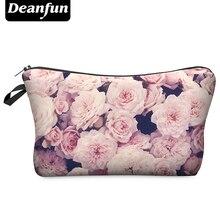 Deanfun 3D Printing Roomy Cosmetic Bag Fashion Women Makeup Bags