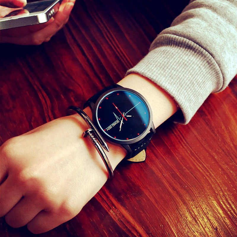 New arrival Electrocardiogram Blue Glass Good Boy My Love Dial Fashion Casual Watch Women Quartz Clock Girl Wristwatches reloj