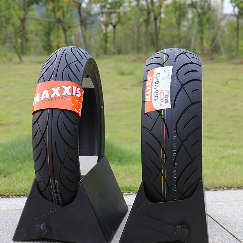 цена на Motorcycle Scooter Vacuum Tyre Tire 120/80-14 150/70-13 Semi Hot-melt For Kymco Xciting 250i/xciting 300i Honda Silver Wing 600