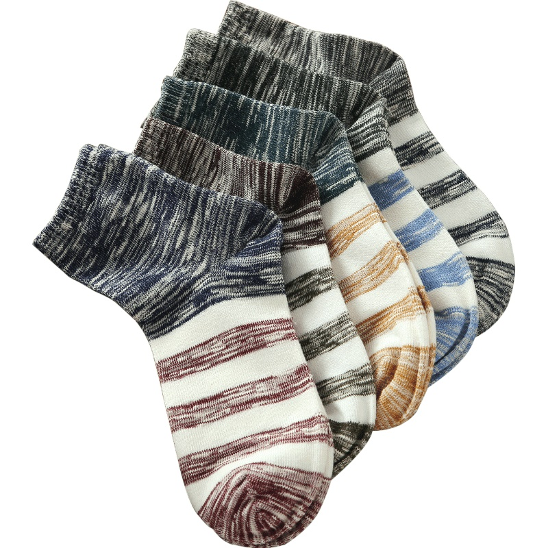 Socks men long A63 fleece autumn winter spring cotton socks 4 seasons
