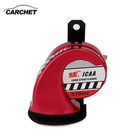 Waterproof Electric Loud Tone Air Horn Universal 115 125dB Car Truck Boat Scooter Motorcycle Loud Tone