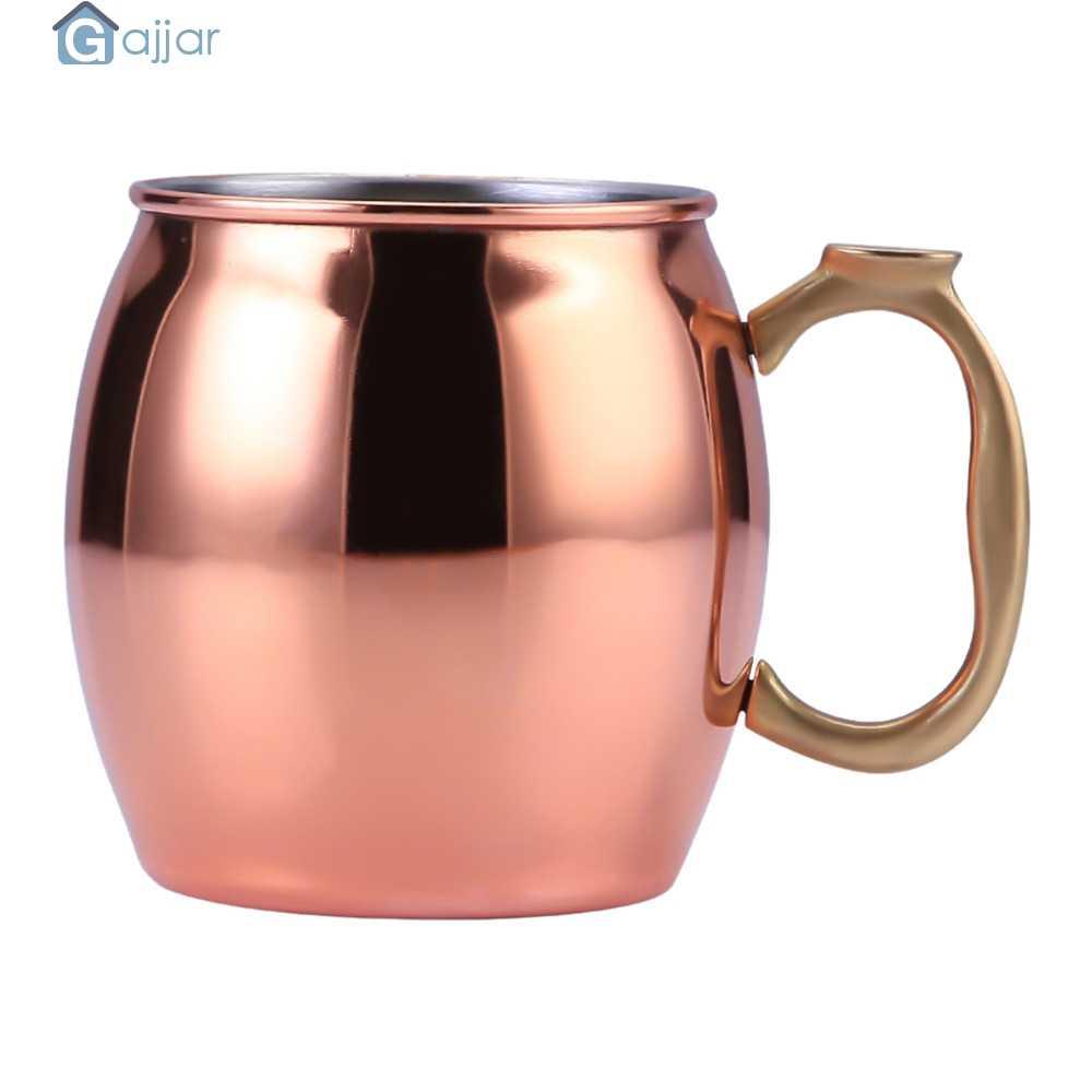 2019 สแตนเลสสตีลทองแดง 430 mL ถ้วยถ้วยแก้วมอสโก Donkey Mule ถ้วยค็อกเทลแก้วท่องเที่ยวคุณภาพสูง Dropshipping 18Nov2