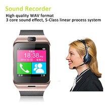 2015 NEUE Handy Uhr Multi Sprache Touch Screen MTK6260 NFC/Kamera/sim-karte/Schlaf monitor/schrittzähler Bluetooth Smartwatch