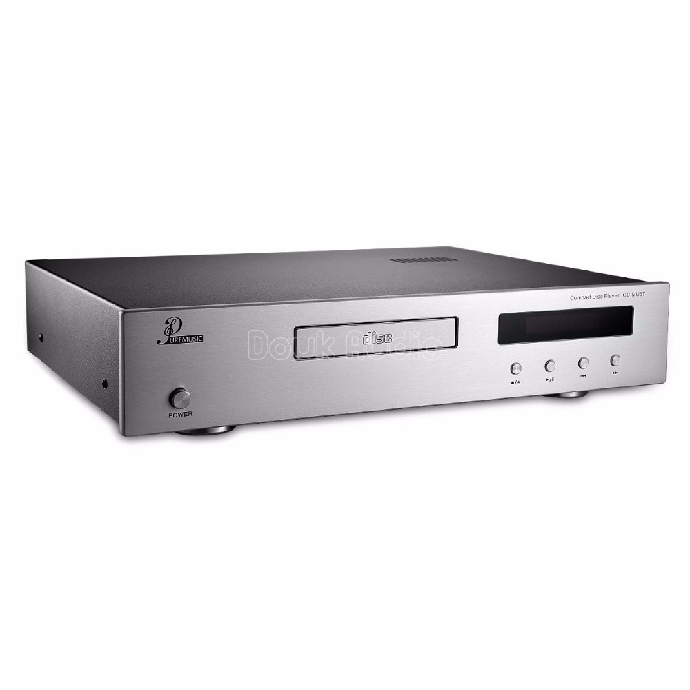 Nobsound Remote Hifi Tube GE5670 CD Disc Player DAC USB Optical Coaxial core PCM1795 shanling cd t2000 hifi cd player hi end vacuum tube cd player pcm1792 24bit 192khz coaxial usb dac xlr output