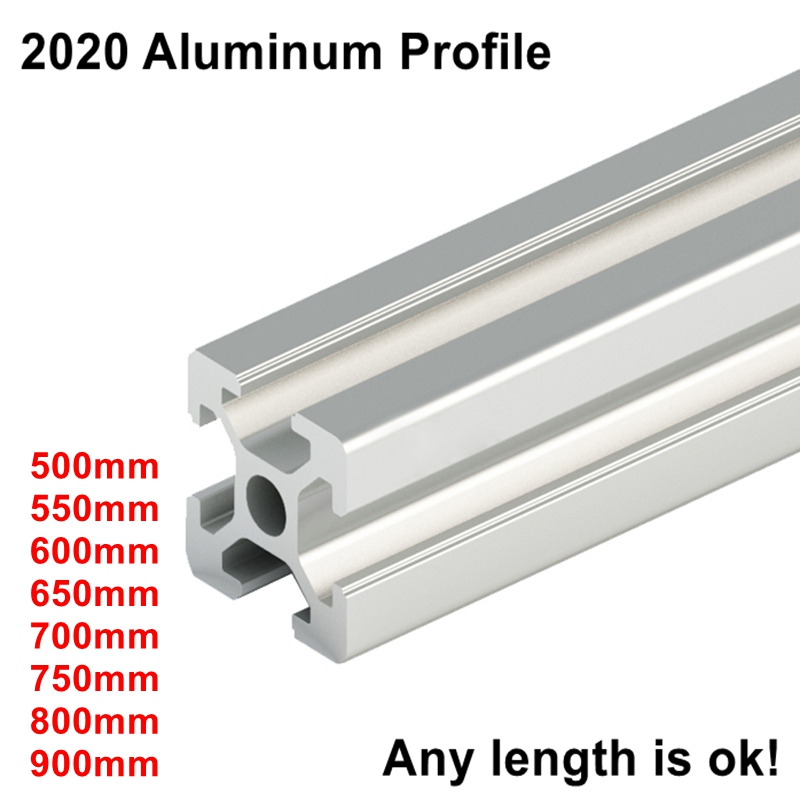 Euro Standard 3D Printer Frame Oxide Anodized Aluminum Extrusion Profile 2020 SeriesEuro Standard 3D Printer Frame Oxide Anodized Aluminum Extrusion Profile 2020 Series