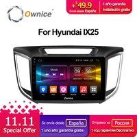 Ownice C500 + G10 10,1 Android 8,1 Octa Core радио автомобиль DVD gps для hyundai iX25 2014 2015 2016 2 ГБ Оперативная память 32 ГБ Встроенная память поддержка 4G LTE