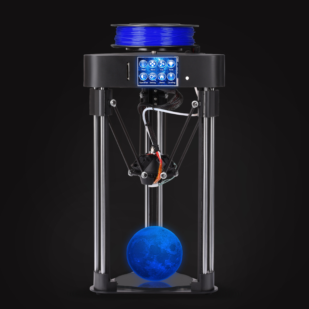 BIQU MAGICIAN full assembly MINI 3D Printer as gift desktop domestic high precision touch screen Titan extruder kossel delta high precision createbot super mini 3d printer no assembly required metal frame impresora 3d 1roll filament 1gb sd card gift