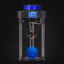 BIQU MAGICIEN assemblée complet MINI 3D Imprimante comme cadeau de bureau domestique de haute précision tactile écran Titan extrudeuse kossel delta