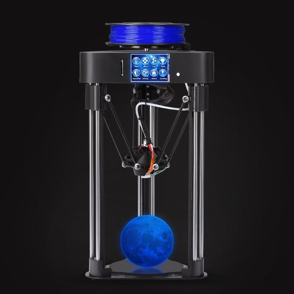 Biqu маг Полное собрание мини 3D-принтеры как подарок desktop отечественных высокоточный сенсорный экран Titan экструдер коссель Delta