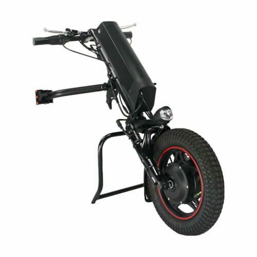 UE DUTY FREE Conhismotor Handcycle 36 V 250 W Elétrica Dobrável Cadeira de Rodas Apego Mão Ciclo Da Bicicleta Kits de Conversão de cadeira de Rodas