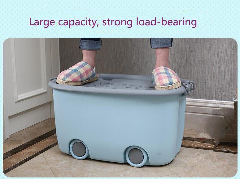 2018 Large Capacity Strong Load Bearing Plastic Storage