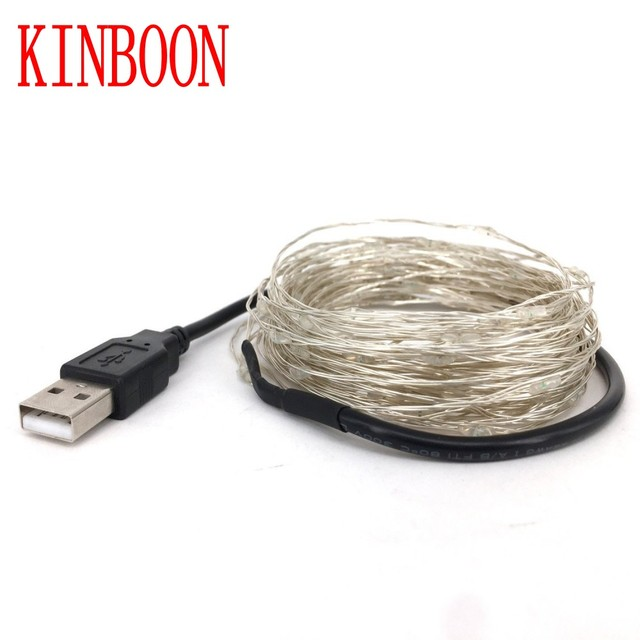 led string lights 5M10M/20M 5V USB powered outdoor Warm white/RGB ...
