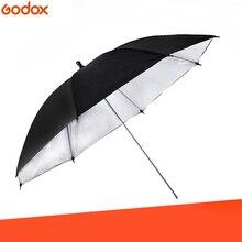 43 дюйма/110 см профессиональная студийная фотовспышка отражатель черный серебристый светоотражающий зонтик полезен в профессиональной студийной съемке
