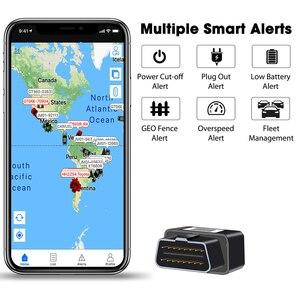 Image 5 - Concox OB22 プラグ & プレイ OBD 車の Gps トラッカー Gps 測位リアルタイム追跡プラグ警報複数アラームコンパクトサイズ