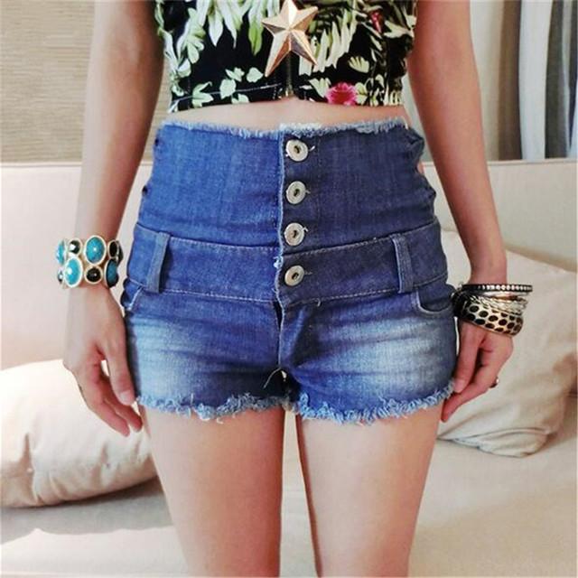 Short feminino new sexy Flash De Algodão Oco denim short cintura alta shorts de cintura alta mulheres jeans pantalones cortos mujer curto
