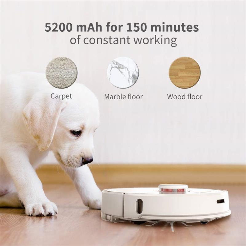 Original Roborock S50 55 MI Robot Vacuum Cleaner with Automatic Sweeping and Dust Sterilize for Home 5