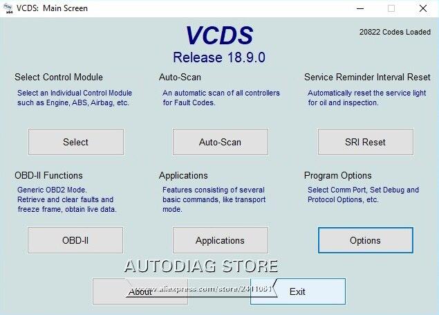 US $240 0  10pcs/lot VAG COM 18 9 VAGCOM 18 9 0 VCDS HEX CAN USB Interface  FOR VW AUDI VAG 18 9 Romanian/English ATMEGA162+16V8+FT232RQ on
