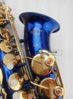 New Selmer 54 Alto Saxophone Brand France Henri Selmer Sax E Flat Professional Blue Alto Sax