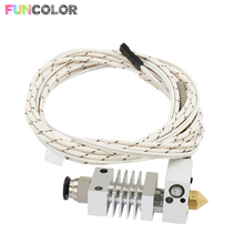 Funcolor CR10 Hotend J-Head 12V50W/24V50W Extruder Bowden Kit With Cable for 3D Printer Parts 1.75mm Filament Reprap 2