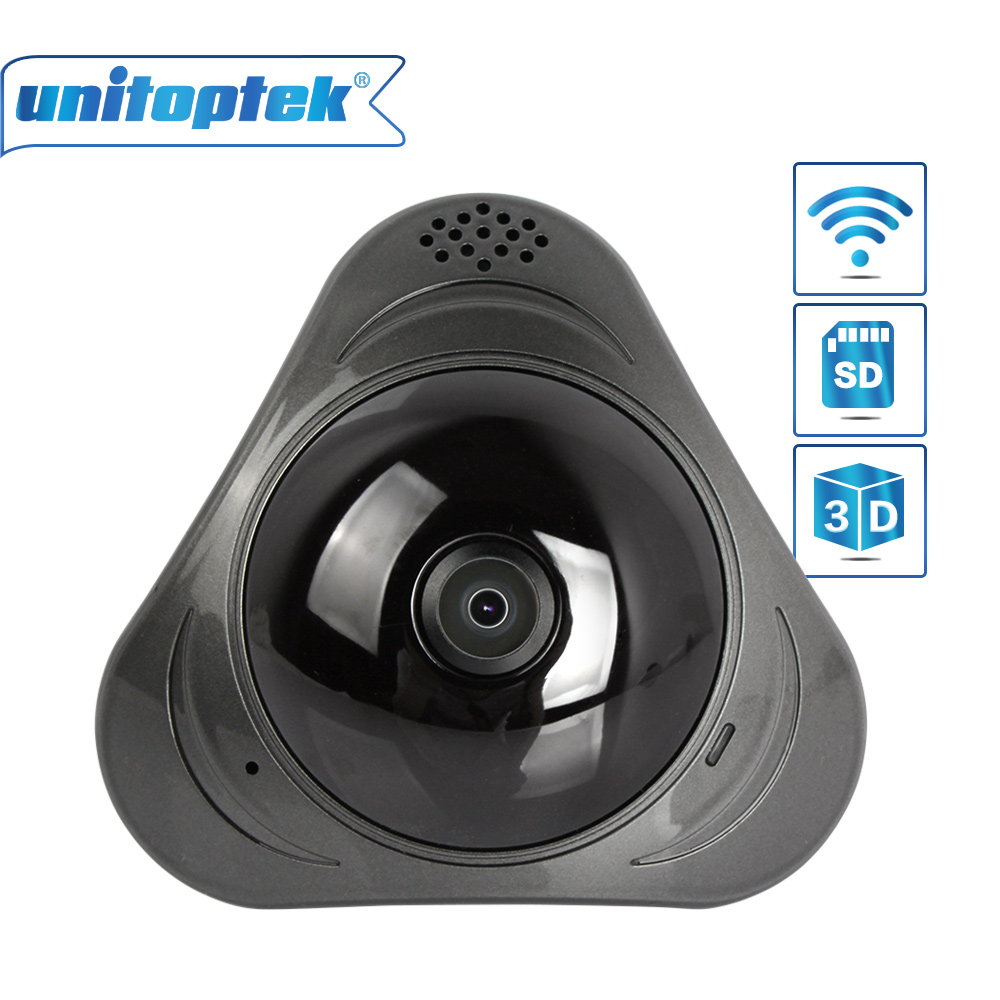 WI-FI IP camera Wireless 960P 360 Degree Panoramic Full View Mini Smart CCTV Camera Network Home Security 3D VR Camera WIFI vr360 panoramic camera wi fi remote control sports action camera
