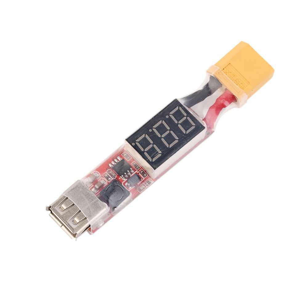2S-6S Lipo Lithium Battery XT60 Plug to USB 5V Charger Converter Adapter Module