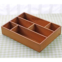 New Arrival Storage Boxes Desktop Wood Storage Holder Flower Pots Wooden Sundries Storage Boxes Toy Collect Wooden Box Craft