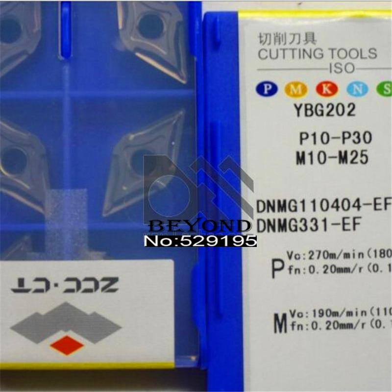 ZCC Original DNMG150404-EF YBG205 DNMG150404 DNMG 150404 Lathe Cutter Tools Carbide Inserts Turning Tool CNC Utensili Tornio