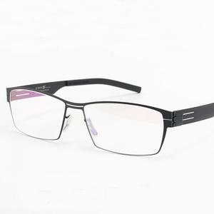 Image 4 - WEARKAPER Montura de gafas para miopía, diseño único Sin tornillo, Ultra ligera, ultrafina