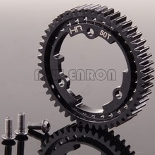 NEW ENRON #6448 Hot Racing 45#Steel 50T 1 Mod Hardened Steel Spur Gear For Traxxas 1/10 E-Revo VXL 1/5 X-Maxx 1/10 Maxx 1/7 XO-1