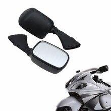Motorcycle Rear Side View Mirrors For Suzuki GSXR 1000 2001-2002 GSX1300R HAYABUSA BUSA 1997-2011 GSXR 600/750 Accessories led rear view mirrors for suzuki gsxr 600 750 2006 2015