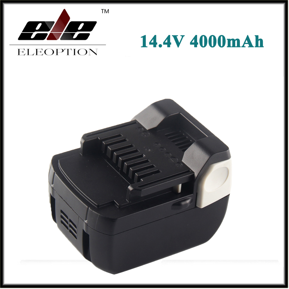 Eleoption 14.4V 4000mAh Li-Ion Replacement Battery for Hitachi BSL1430 BSL1415 326236 327729 326824 326823 BCL1430 C-2 new arrival 14 4v 4 0ah li ion replacement battery for hitachi bsl1430 bsl1415 326236 327729 326824 326823 bcl1430 c 2 wholesale